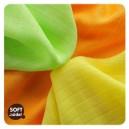 Čistiace obrúsky bambusové 30 x 30 cm XKKO BMB - Colours MIX