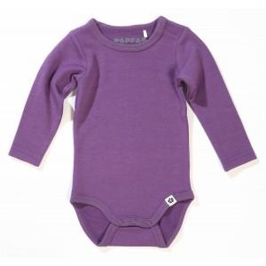 Papfar body vlna/bavlna jednofarebné fialové