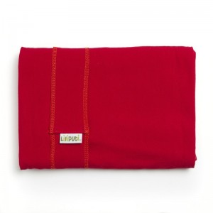 Elastická šatka Liliputi červená