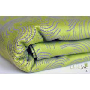 Šatky Little Frog žakár 100 % bavlna 250-260 g/m2