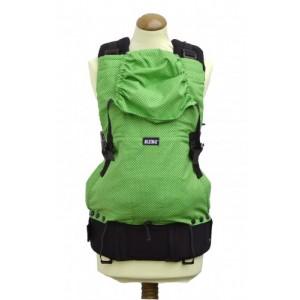 Ergonomický nosič Kibi zelené bodky