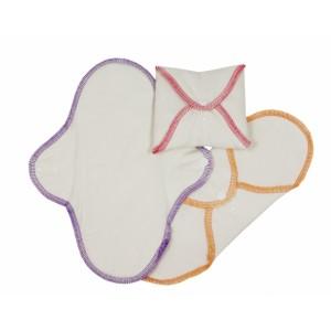 Hygienické látkové prateľné vložky Normal - denné - 3 ks