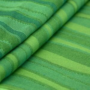 Šatka Didymos vlnky zelené (lime)