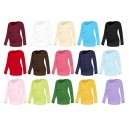 Tričko na dojčenie Katarína - dlhý rukáv -prehľad farieb