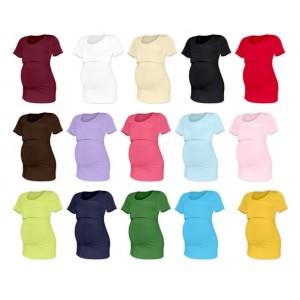 Tričko na dojčenie Katarína - krátky rukáv