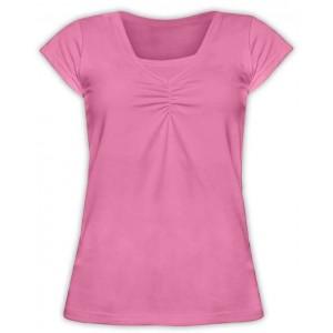 Tričko na dojčenie Klaudia - krátky rukáv