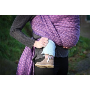Yaro Basket Modified Violet Old-Rose