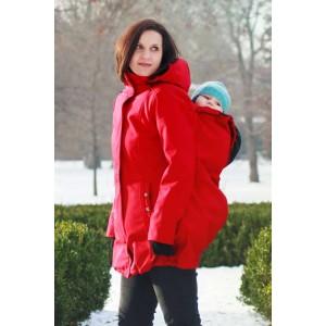 Softshellový kabát Adelay - červený