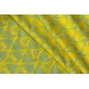 Yaro La Fleur Yellow Blue Linen