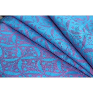 Yaro Retro Berry Light-Blue Rose Linen