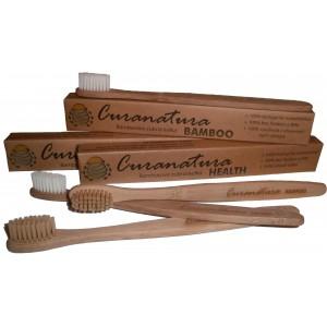 Bambusová zubná kefka Curanatura Extra Soft