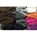 Vlnené ponožky Diba veľ. 9 - zľava zhora: hnedá, čokohnedá, čierna, sivá, tm.sivá, tm.modrá, krémová, hrdzavá, tm.ružová,fialová