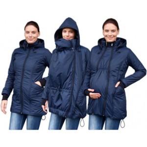 Zimná zateplená bunda tmavomodrá