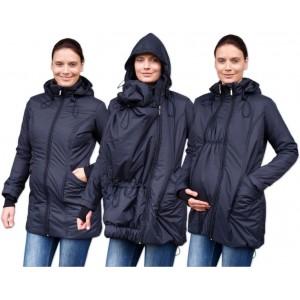 Zimná zateplená bunda čierna Jožánek