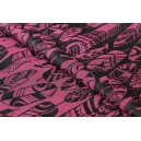 Yaro Four Winds Fuchsia Black