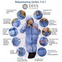 Zimný kabát 3v1 Diva Milano