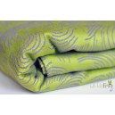 Šatky Little Frog žakár 100 % bavlna 250-260 g/m2 - Green Echo