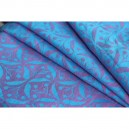 Yaro Retro Berry Light-Blue Rose Linen