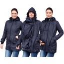 Zimná zateplená bunda čierna